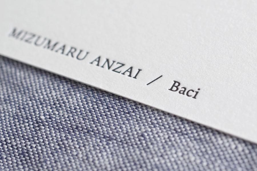 MIUMARU ANZAI / Baci
