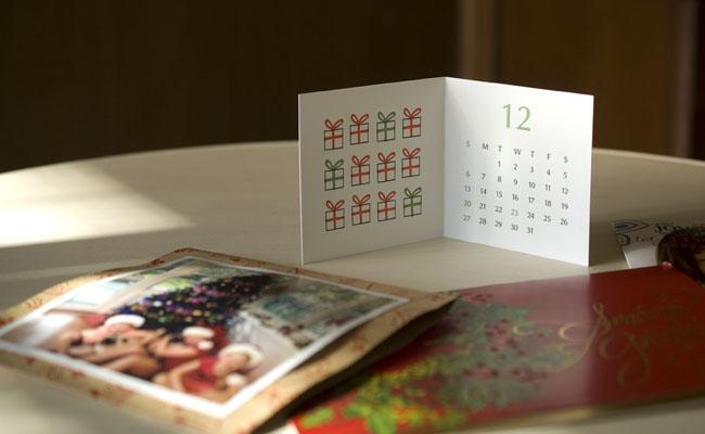 2015年レタープレスカレンダー、Bird Design Letterpress for Madu