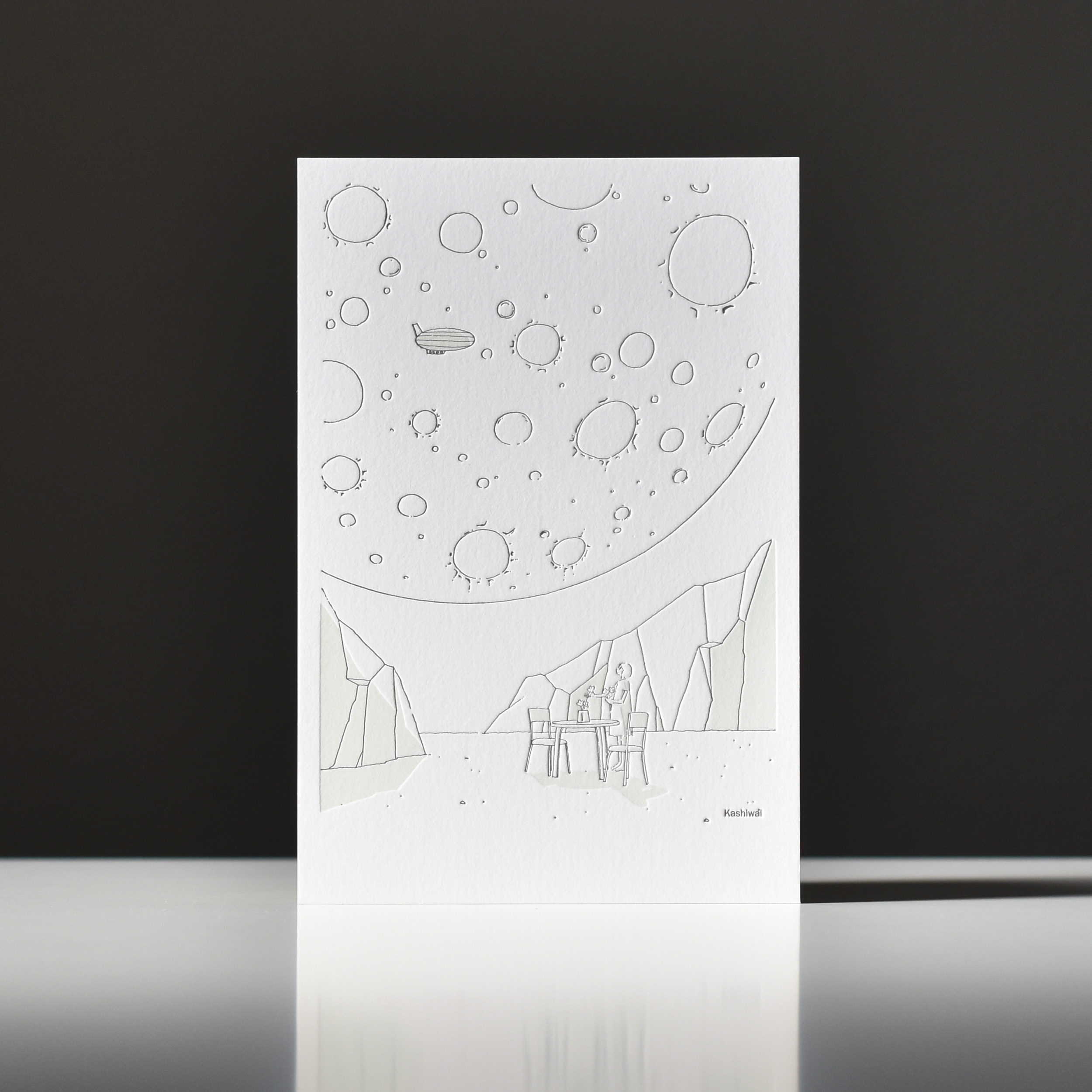 カシワイ様 活版印刷ポストカード