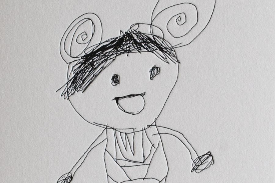 活版印刷ポストカード Little Artists Collection 02