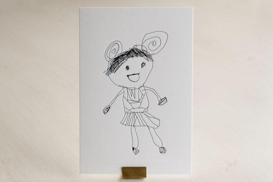 活版印刷ポストカード Little Artists Collection 01